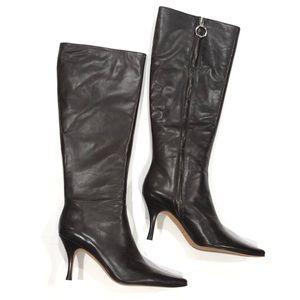 Banana Republic Leather Tall Espresso Boots